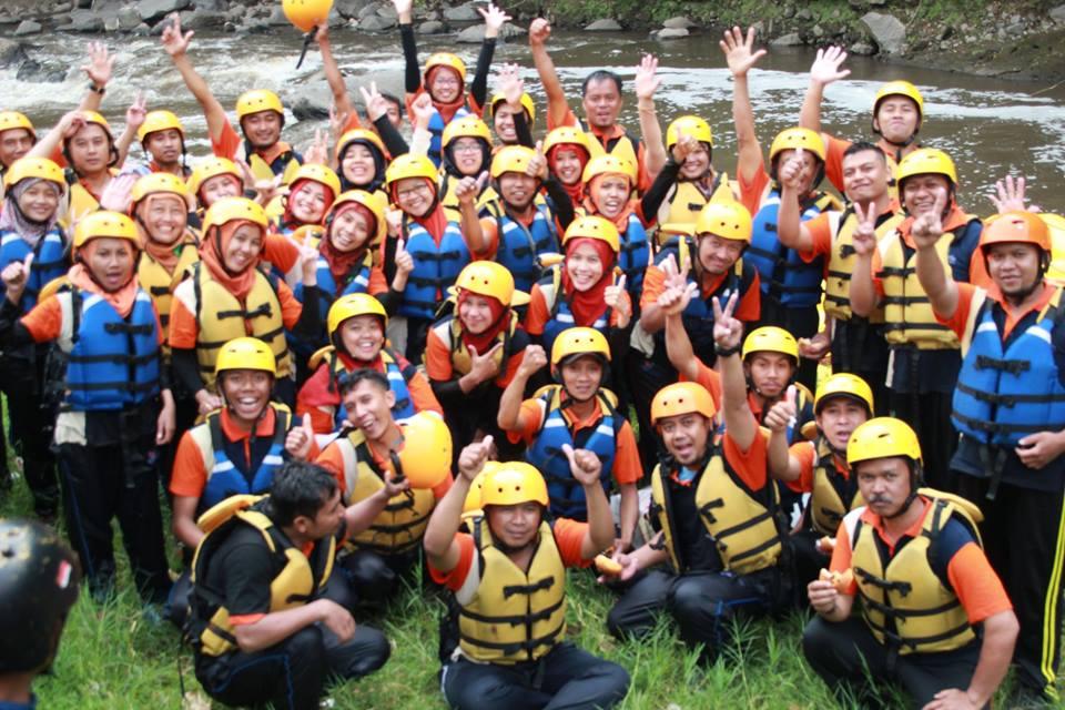 Outbound dan Rafting Pujon Rafting
