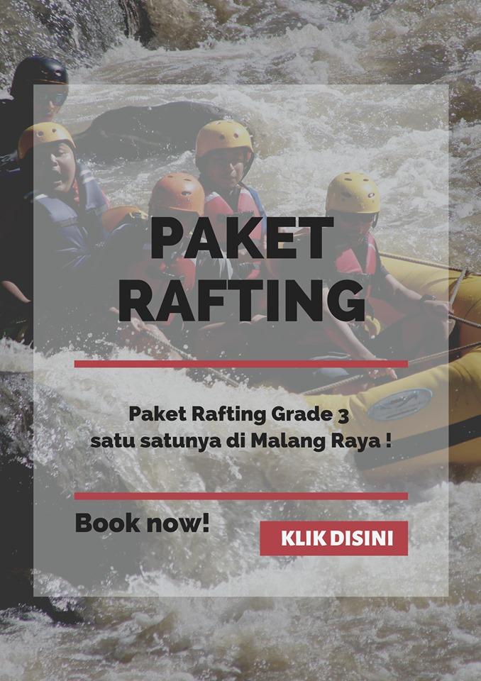 rafting pujon
