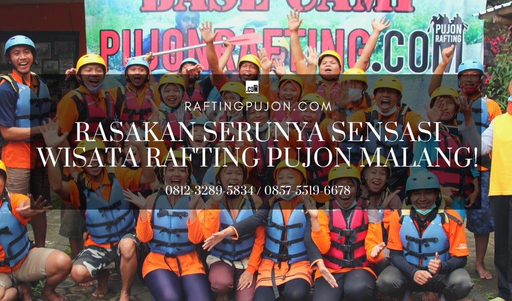 Rafting di Pujon Malang